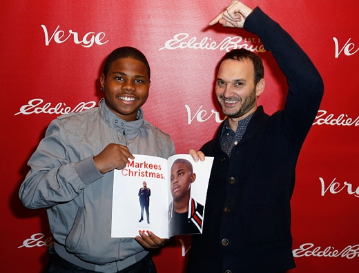 PARK CITY, UT - JANUARY 23:  Markees Christmas and Jeff Vespa attend Verge Sundance Party 2016 Presented By Eddie Bauer on January 23, 2016 in Park City, Utah.  (Photo by Randy Shropshire/Getty Images for Verge)
