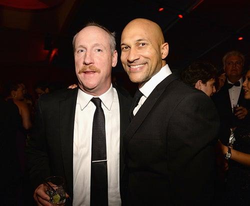 Matt Walsh Keegan Michael Key Weinstein Company and Netflix Golden Globes Party