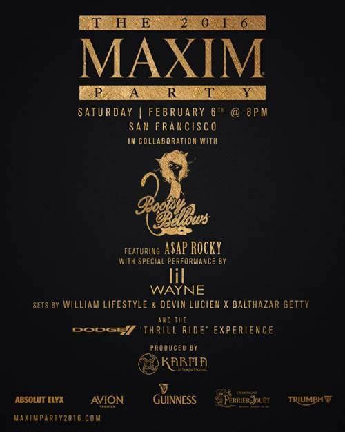 Maxim Invite