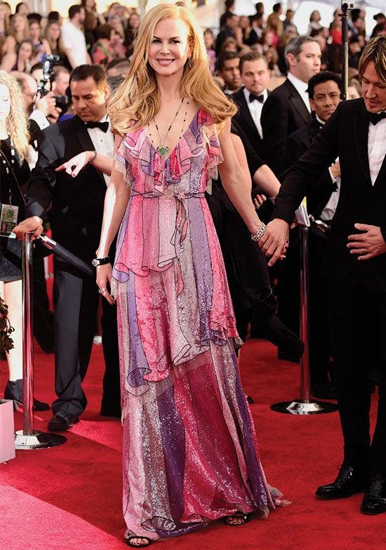 Nicole Kidman arrives at the SAG Awards