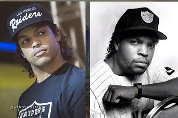 O'Shea Jackson, Jr. (left) and Ice Cube (right)