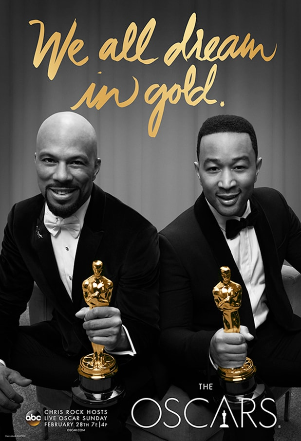 Oscars 2016 John Legend Common