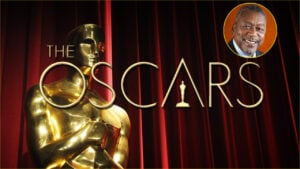 Oscars Poster and Bob Johnson