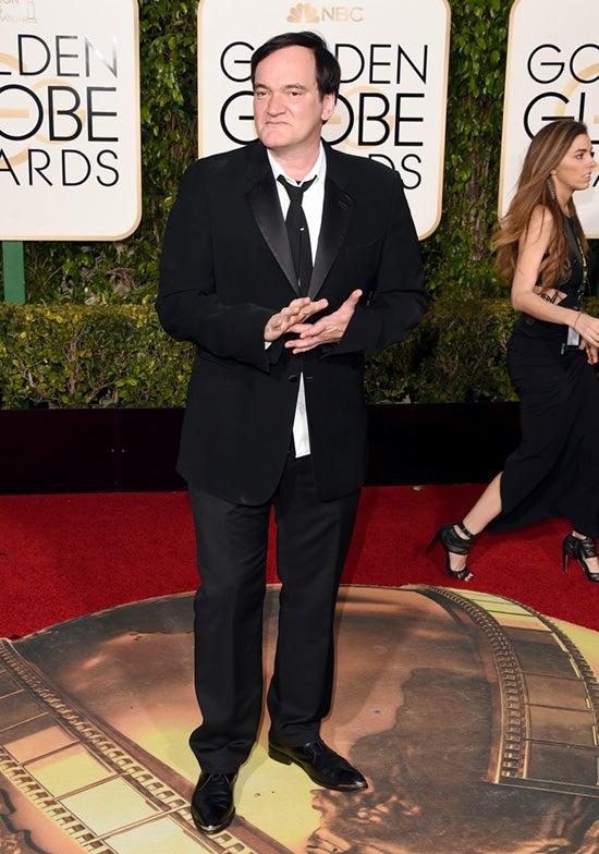 Quentin Tarantino 2016 Golden Globes