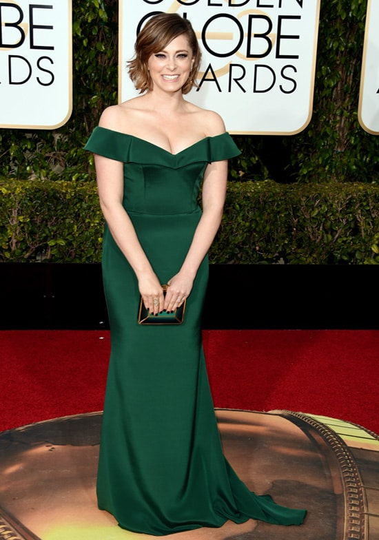Rachel Bloom 73rd Annual Golden Globe Awards Arrivals