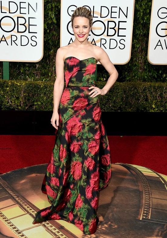 Rachel McAdams 2016 Golden Globes