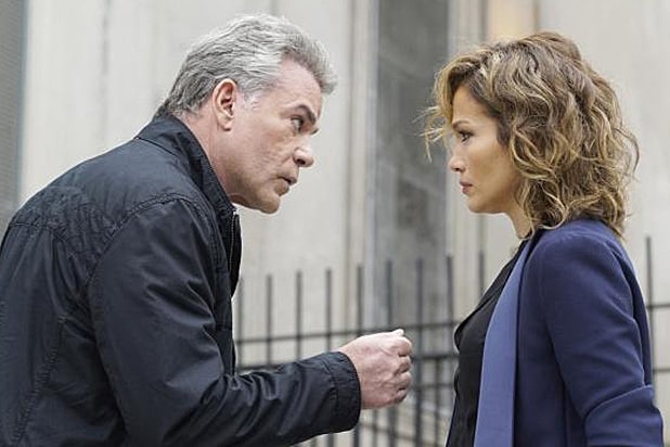 Ray Liotta and Jennifer Lopez Shades of Blue