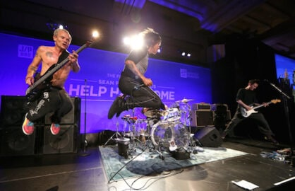 Red Hot Chili Peppers Help Haiti Home Gala