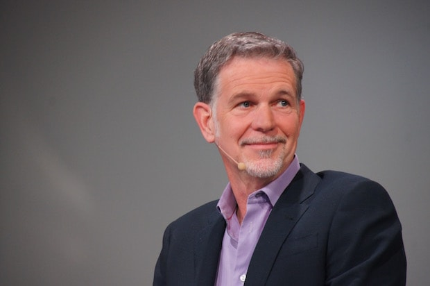 Netflix CEO Reed Hastings at CES 2016