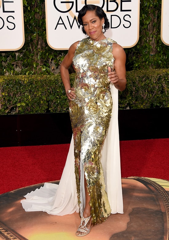 Regina King 2016 Golden Globes