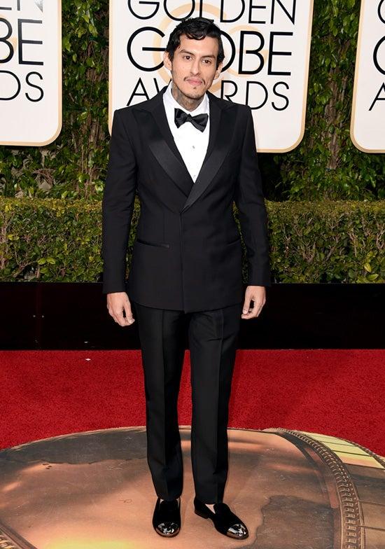 Richard Cabral 2016 Golden Globes