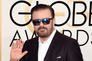 Ricky Gervais 73rd Annual Golden Globe Awards Arrivals