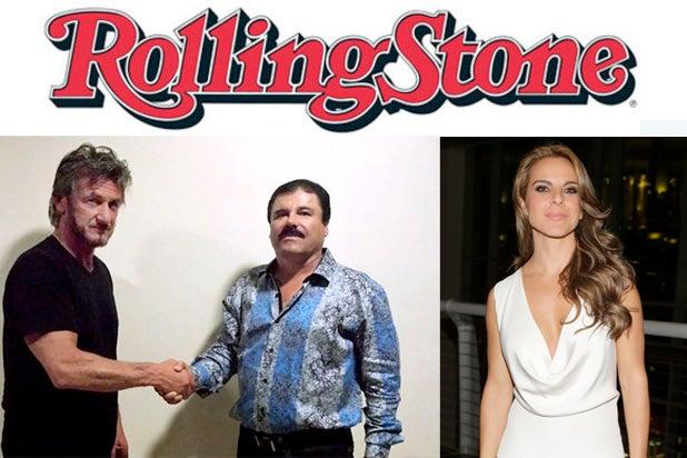 Rolling Stone Sean Penn El Chapo Kate del Castillo