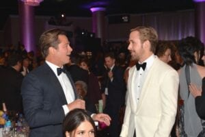 Brad Pitt Ryan Gosling Golden Globes