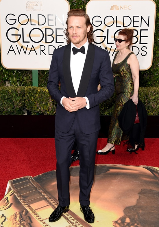 Sam Heughan 2016 Golden Globes
