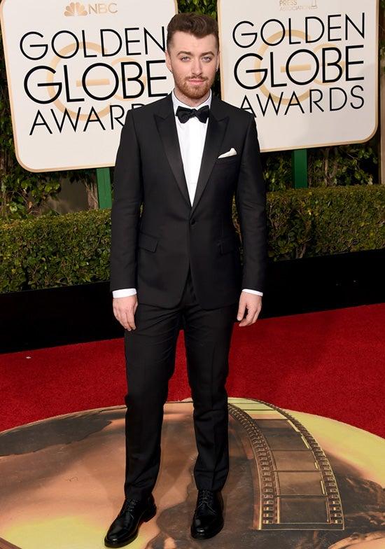 Sam Smith 73rd Annual Golden Globe Awards Arrivals