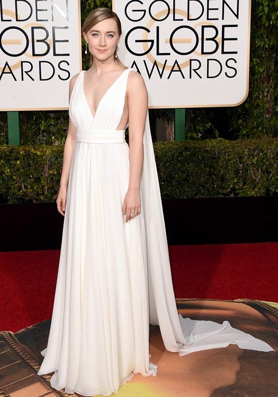 Saoirse Ronan 2016 Golden Globes