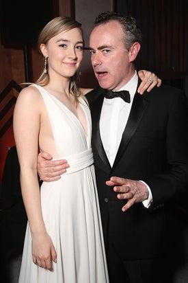 Saoirse Ronan John Crowley Fox Golden Globe Awards Party