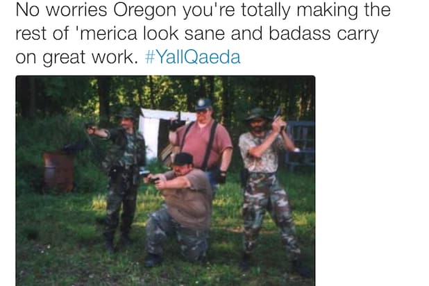 #YallQaeda Meme Oregon Bundy
