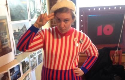 Lena Dunham Takes Over Hillary Clinton Instagram