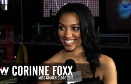 Corinne Foxx Miss Golden Globes