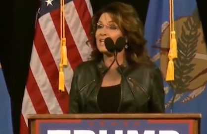 Sarah palin blames obama for son's arrest