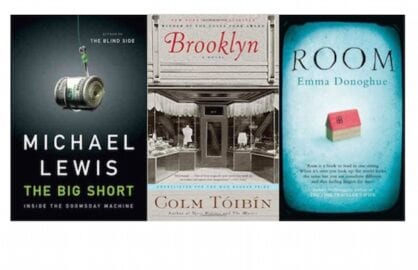 Scripter Nominees: The Big Short, Brooklyn and Room