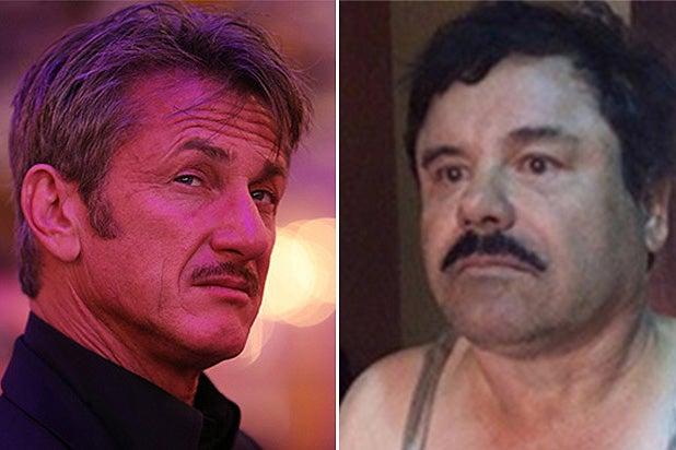 Sean Penn and El Chapo Split