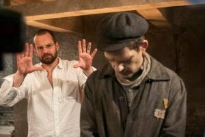 "Mátyás Erdély shooting ""Son of Saul"""