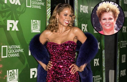 Stacey Dash and BET's Debra Lee