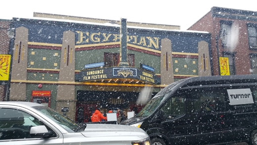 A view of the Egyptian on Saturday afternoon, January 23, 2016. (Mikey Glazer)