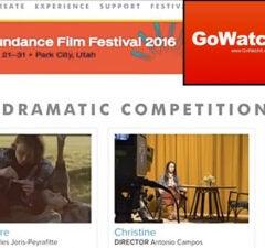 Sundance Film Festival GoWatchIt
