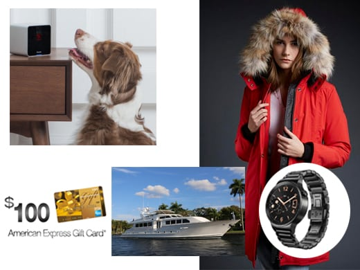 Sundance Swag 2016 Yacht Cash Watches