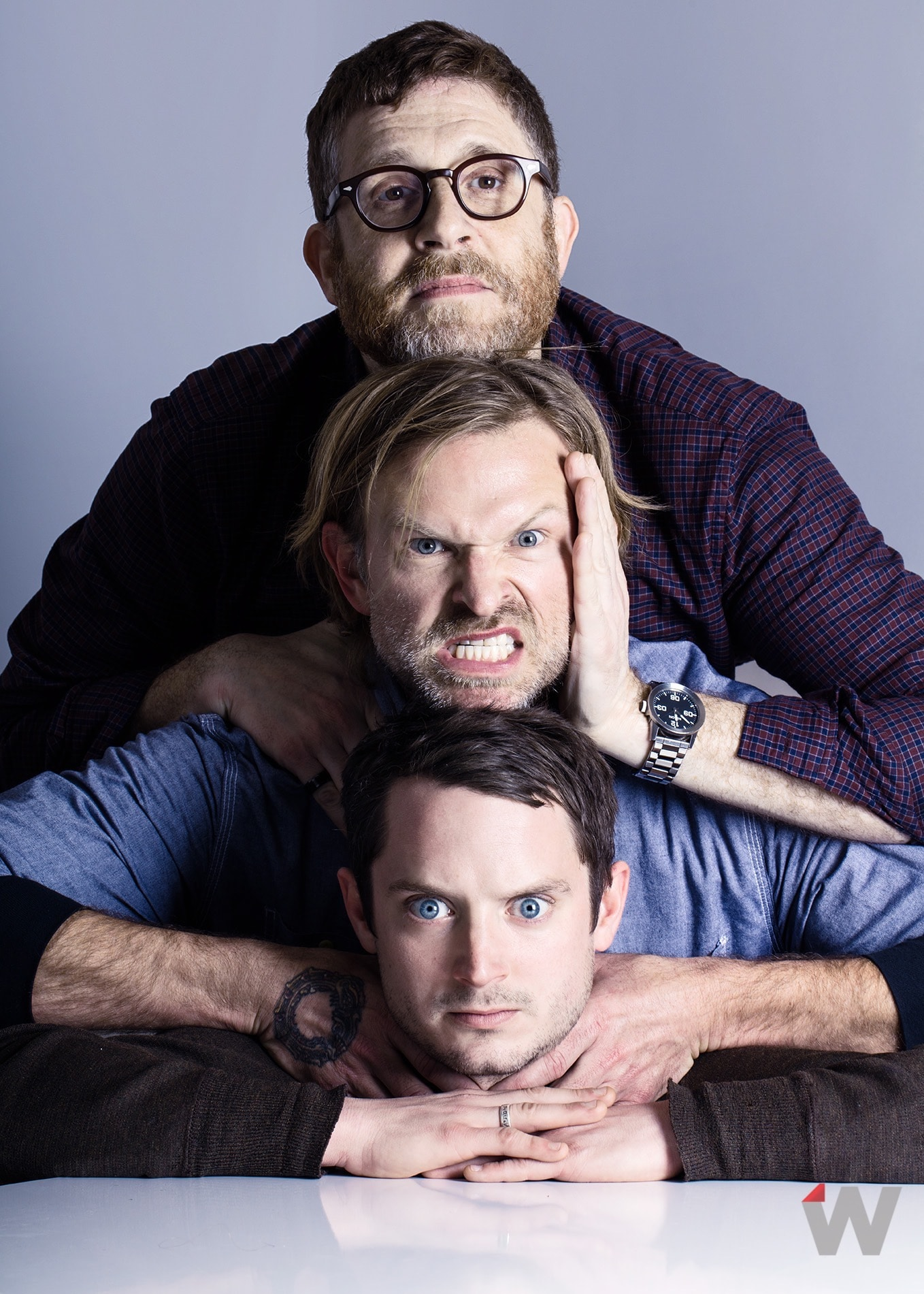 Daniel Noah, Josh Waller, Elijah Wood Sundance