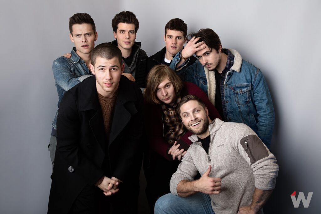 Austin Lyon, Nick Jonas, Gus Halper, Danny Flaherty, Jake Picking, Brock Yurich, Ben Schnetzer Sundance