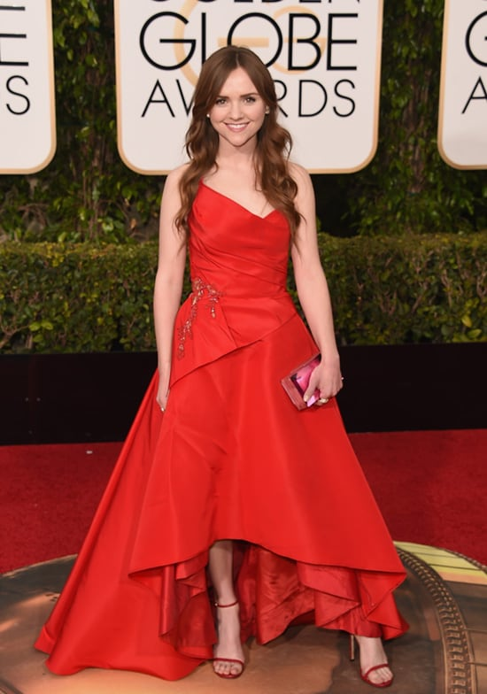 Tara Lynne Barr 73rd Annual Golden Globe Awards Arrivals