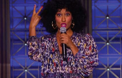 Tracee Ellis Ross performs on Lip Sync Battle