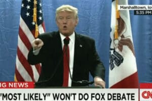 Trump clashes with a reporter