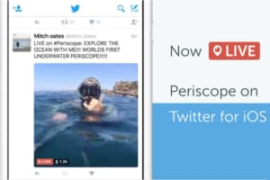 Twitter can autoplay Periscope live streams directly in Tweets