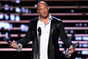 Vin Diesel at People's Choice Awards 2016