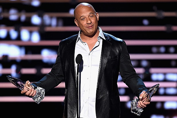 Vin Diesel at People's Choice Awards 2016