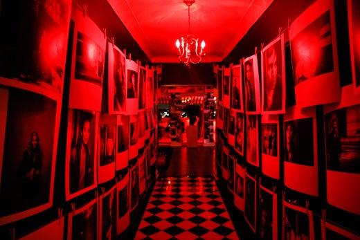 The dark room decor. (BFA Agency for Dom Perignon)