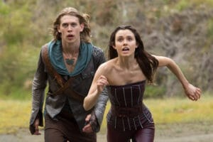 Wil and Amberle The Shannara Chronicles