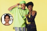 The Fresh Prince of Bel-Air's Will Smith & Janet Hubert, with Jada Pinkett Smith