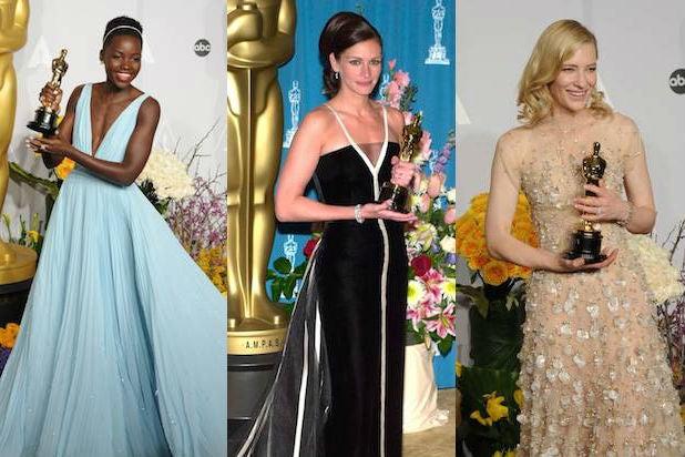 Wrap-Ranker Oscar Poll: Best Dressed Oscar-Winning Women of the