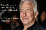 alan rickman tributes
