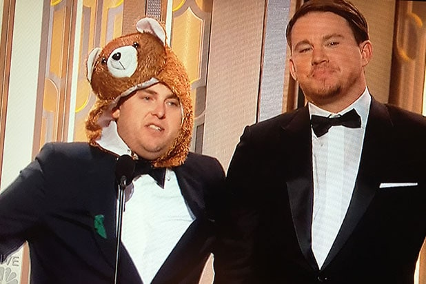 Bear Joke at Golden Globes