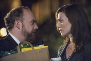 Paul Giamatti and Maggie Siff in Billions