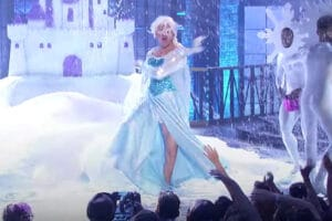 "Channing Tatum as Elsa on ""Lip Sync Battle"""