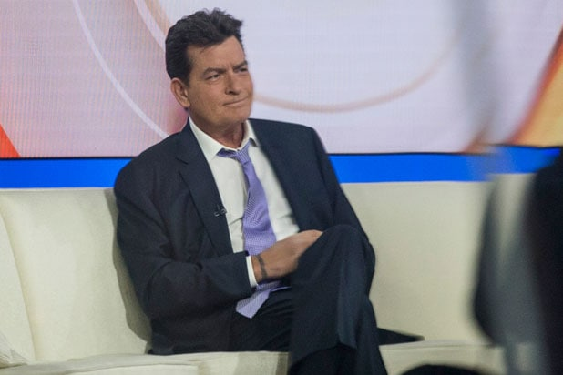 Charlie Sheen Today Show